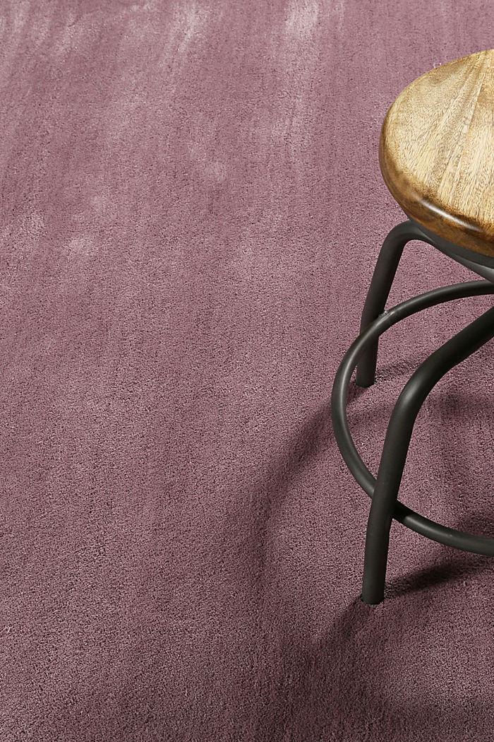 Hochflor-Teppich in vielen Trendfarben, LILAC, detail image number 3