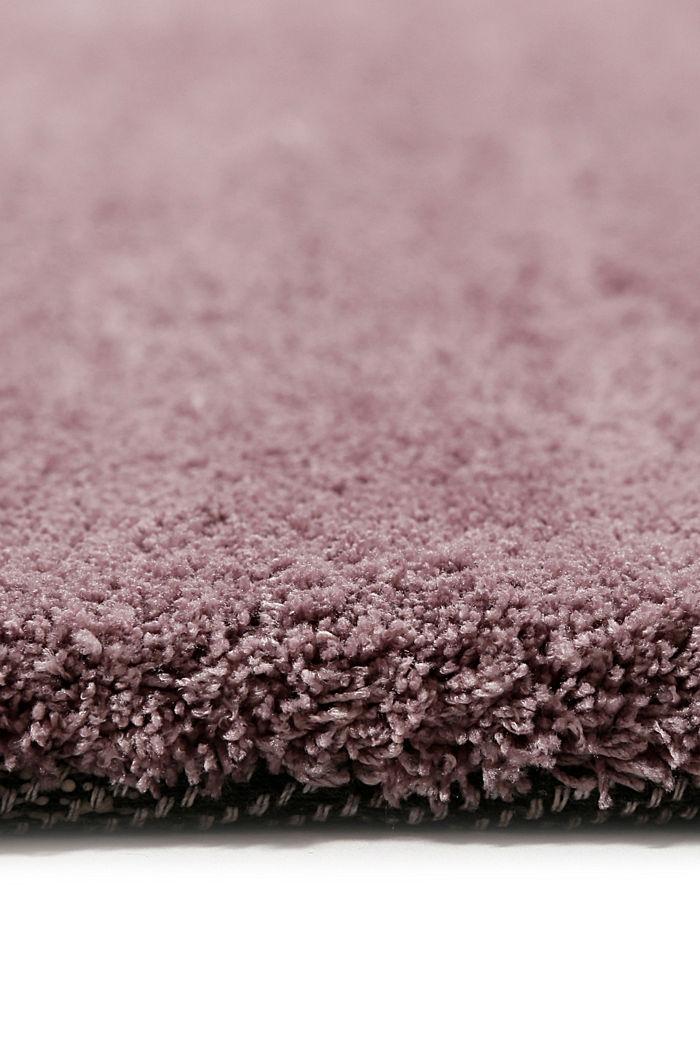 Hochflor-Teppich in vielen Trendfarben, LILAC, detail image number 1