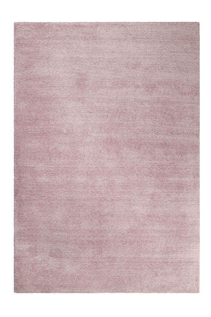 Hochflor-Teppich in vielen Trendfarben, ROSE, detail image number 0