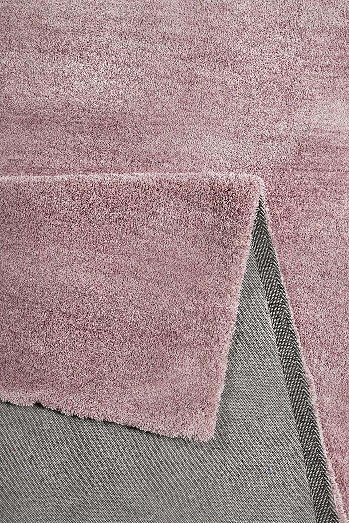 Hochflor-Teppich in vielen Trendfarben, ROSE, detail image number 1