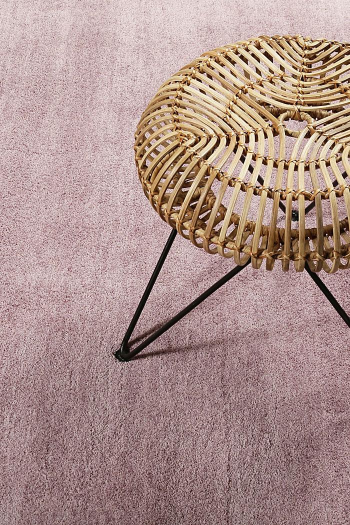 Hochflor-Teppich in vielen Trendfarben, ROSE, detail image number 2