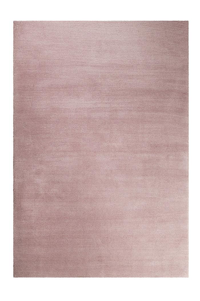 Hochflor-Teppich in vielen Trendfarben, PASTEL PINK, detail image number 0