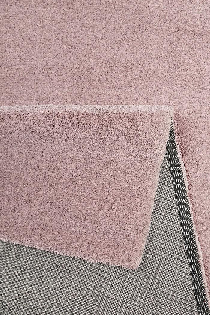 Hochflor-Teppich in vielen Trendfarben, PASTEL PINK, detail image number 2