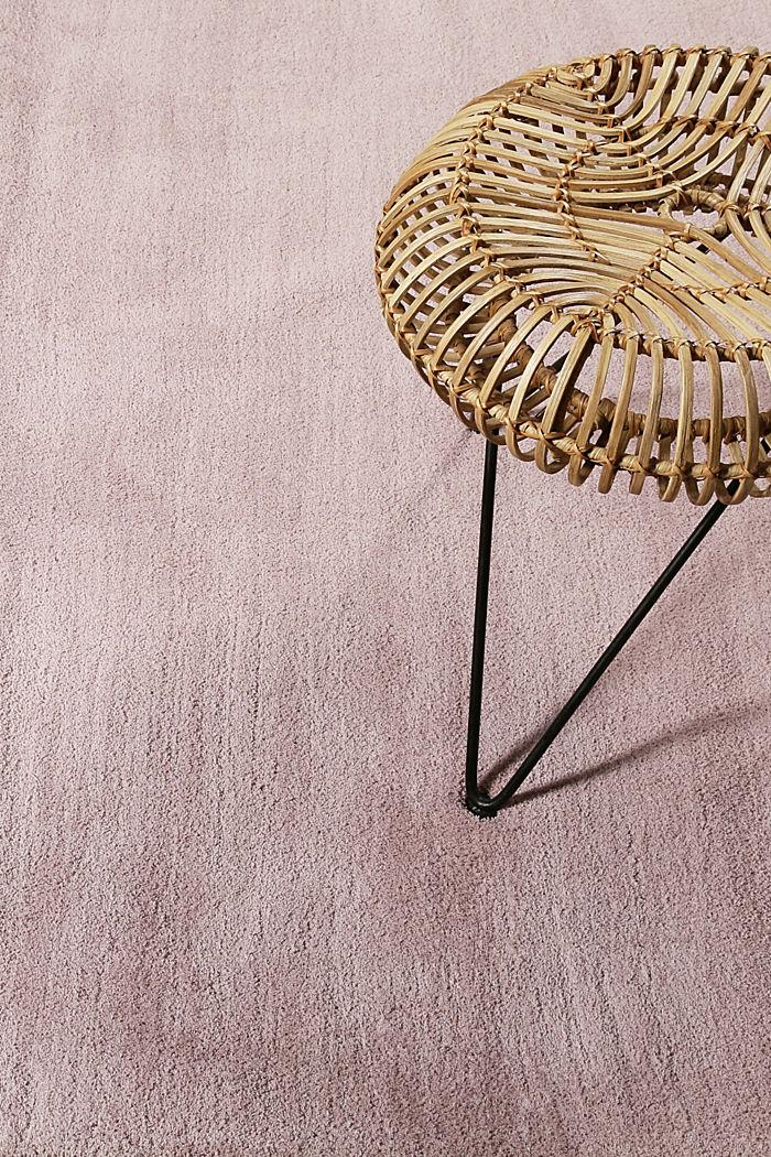 Hochflor-Teppich in vielen Trendfarben, PASTEL PINK, detail image number 3