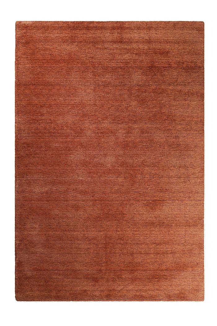 Hochflor-Teppich in vielen Trendfarben, BRASS, detail image number 0