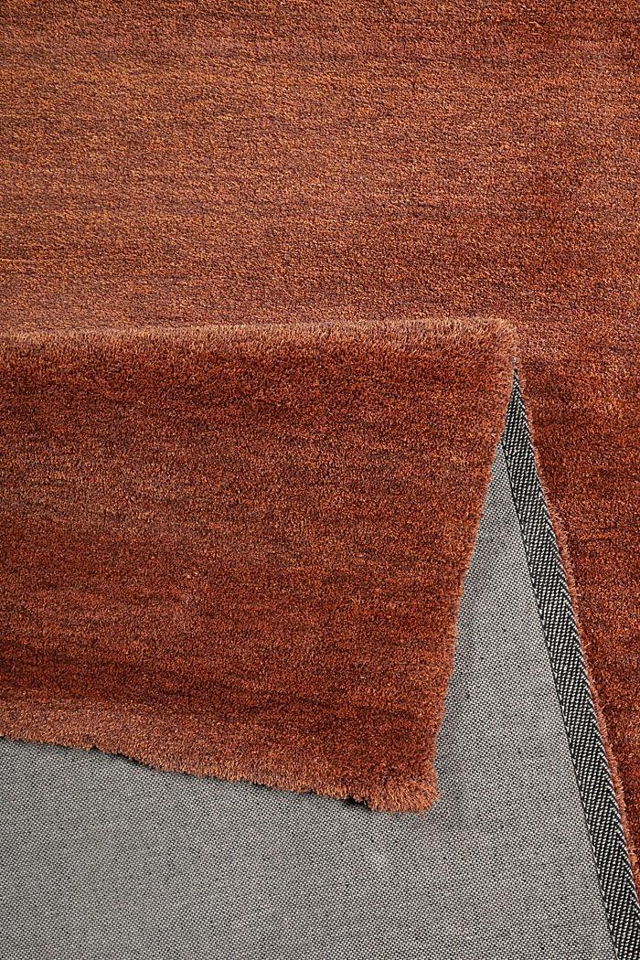 Hochflor-Teppich in vielen Trendfarben, BRASS, detail image number 2