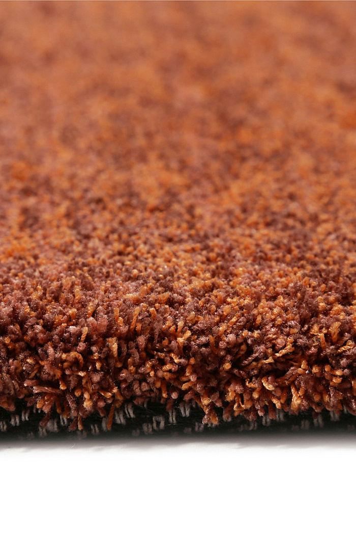Hochflor-Teppich in vielen Trendfarben, BRASS, detail image number 1