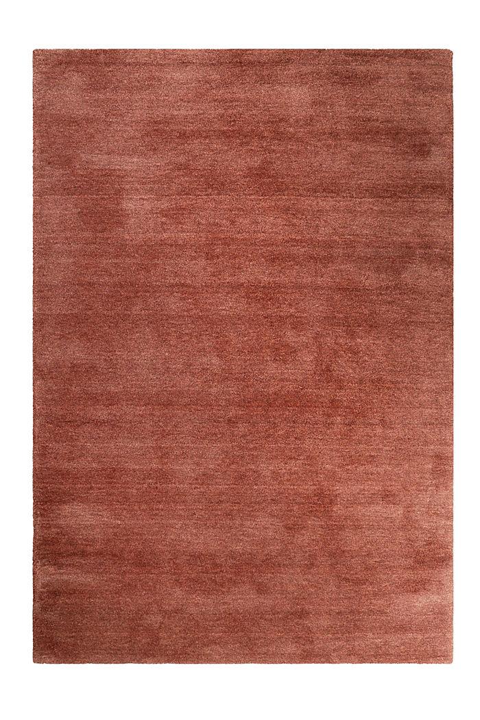 Hochflor-Teppich in vielen Trendfarben, RED BROWN, detail image number 0