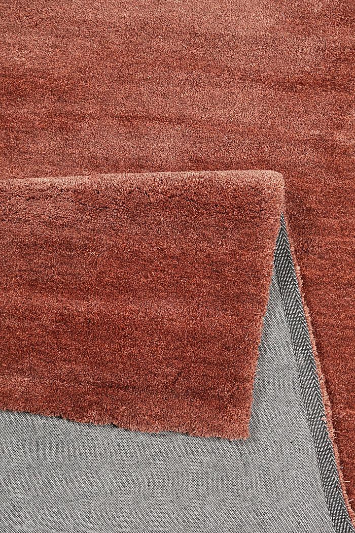 Hochflor-Teppich in vielen Trendfarben, RED BROWN, detail image number 2