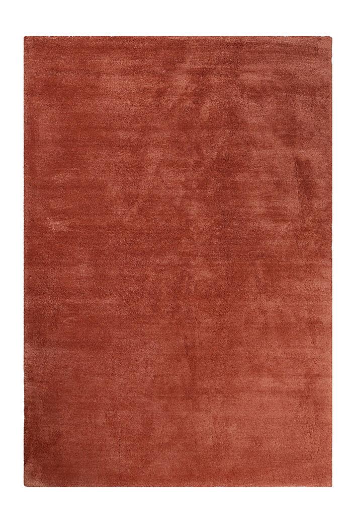 Hochflor-Teppich in vielen Trendfarben, BRICK, detail image number 0