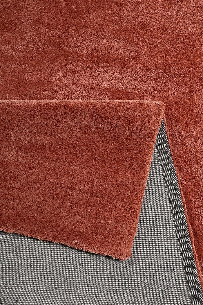 Hochflor-Teppich in vielen Trendfarben, BRICK, detail image number 2