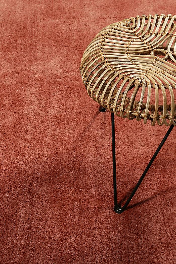 Hochflor-Teppich in vielen Trendfarben, BRICK, detail image number 3