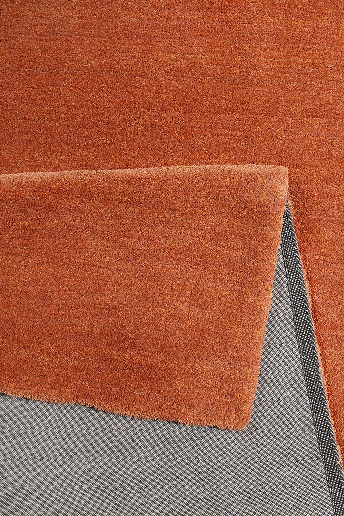 Hochflor-Teppich in vielen Trendfarben, ORANGE, detail image number 2