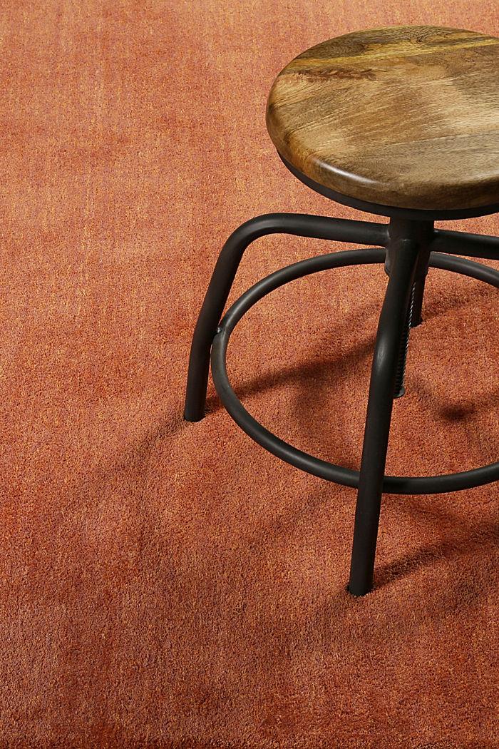 Hochflor-Teppich in vielen Trendfarben, ORANGE, detail image number 3