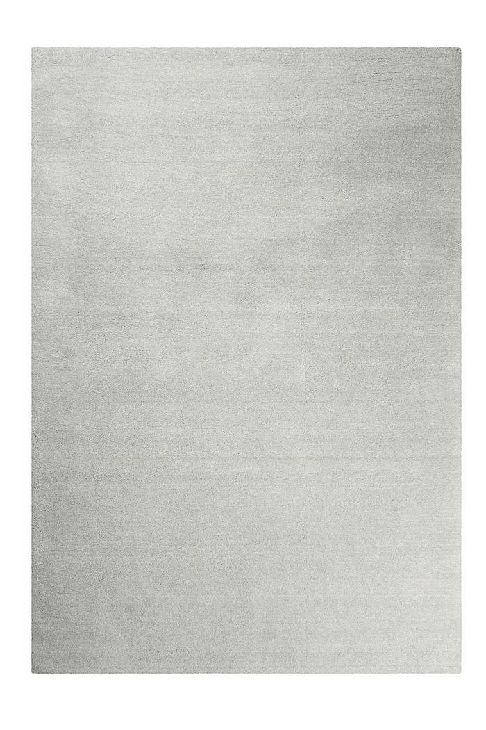 Hochflor-Teppich in vielen Trendfarben, LIGHT GREY, detail image number 0