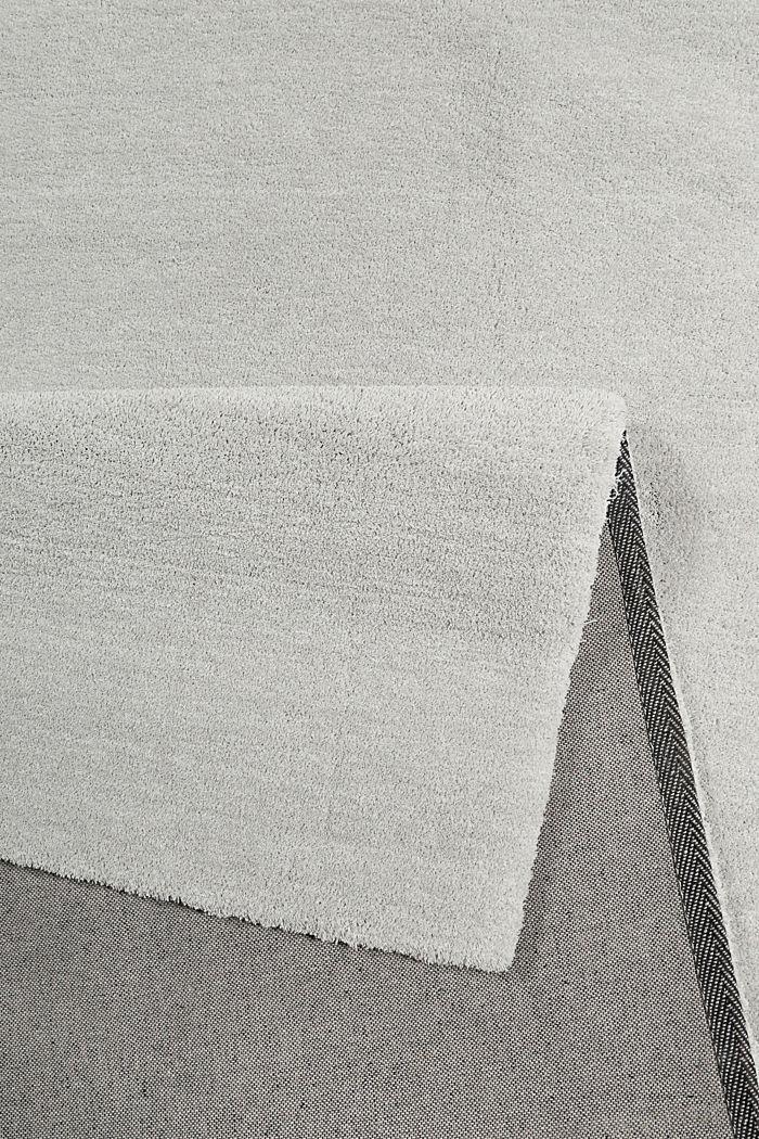 Hochflor-Teppich in vielen Trendfarben, LIGHT GREY, detail image number 2
