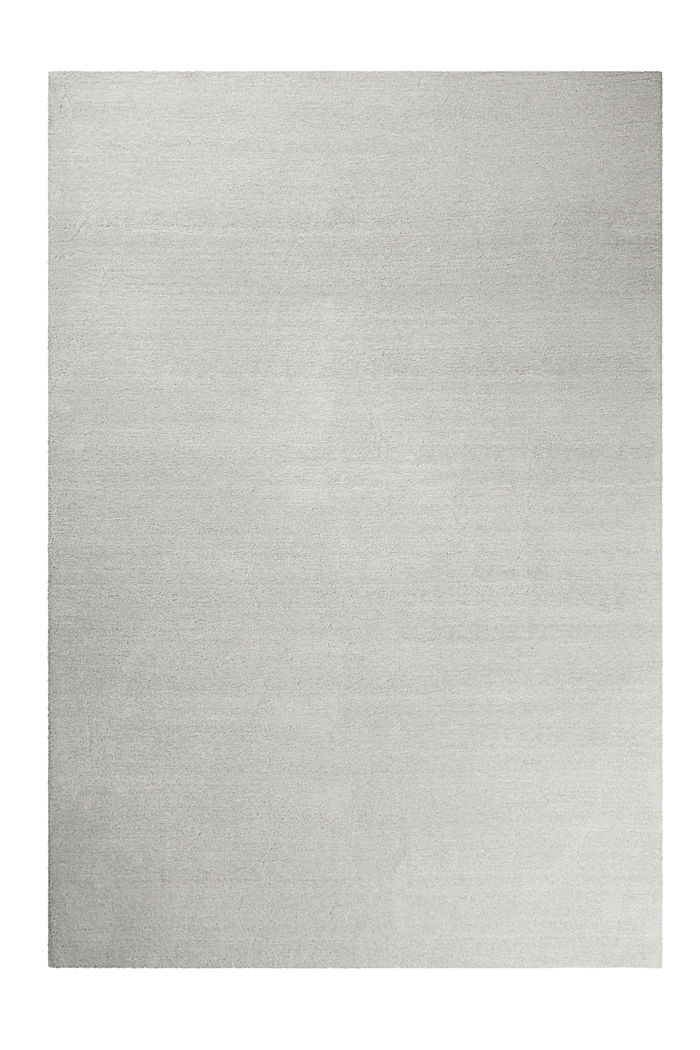 Hochflor-Teppich in vielen Trendfarben, PASTEL GREY, detail image number 0