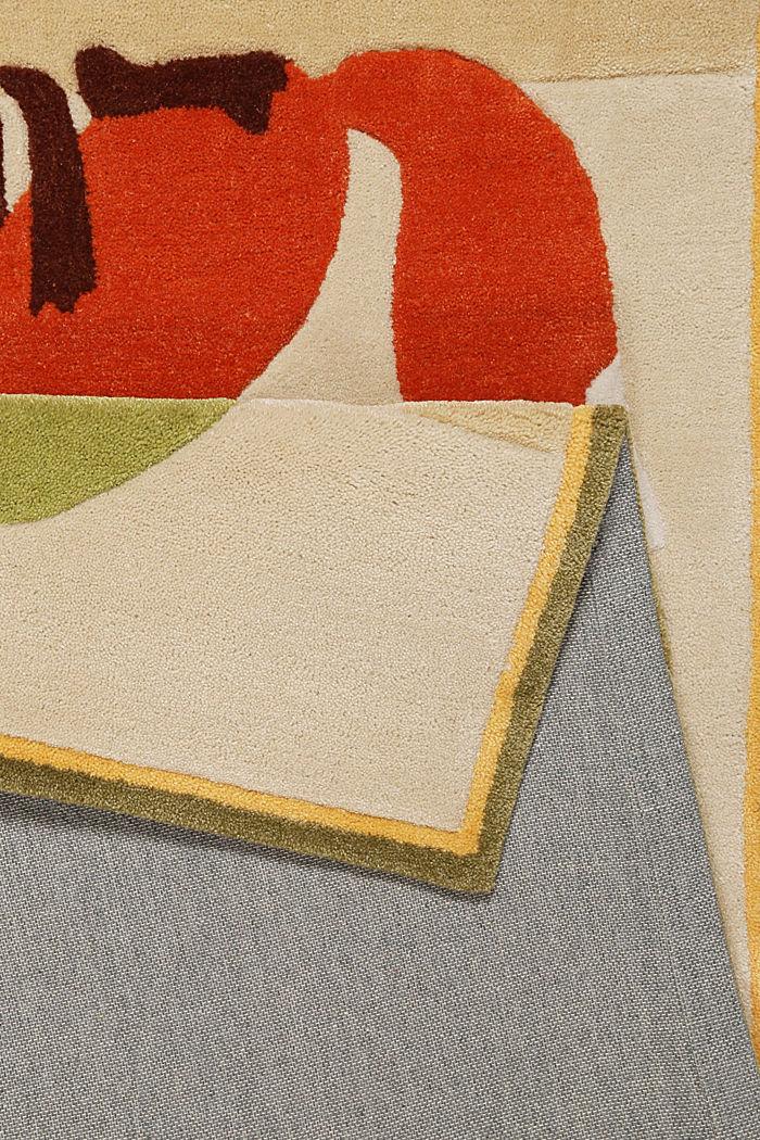 Kinderteppich mit Konturenschnitt, BEIGE, detail image number 2
