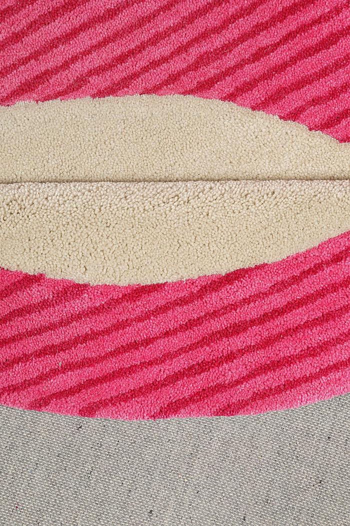Kinderteppich mit fröhlichem Tukan, PINK, detail image number 2