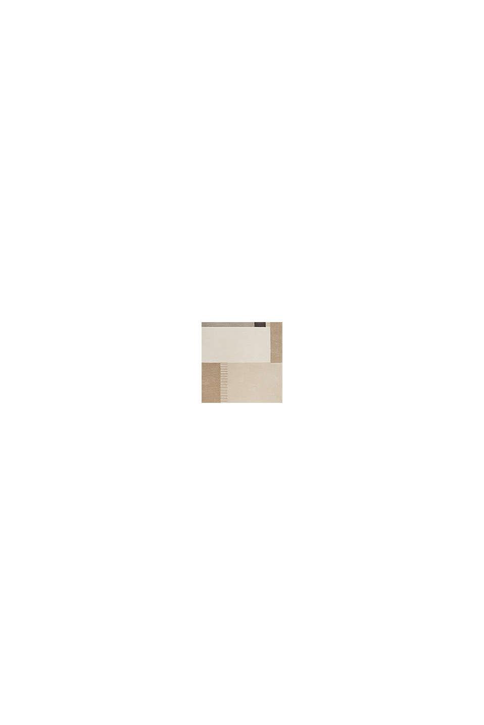 Handgetufteter Teppich mit Konturenschnitt, BEIGE, swatch