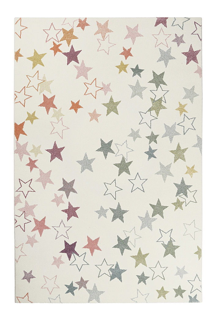 Gewebter Teppich mit Sterne-Print