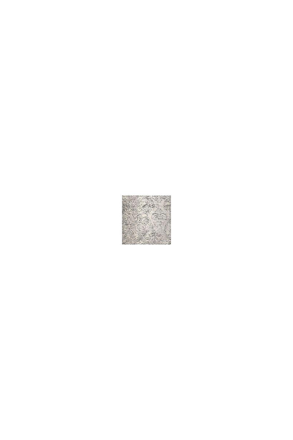 Web-Teppich mit Ausbrenner-Technik, GRAU, swatch