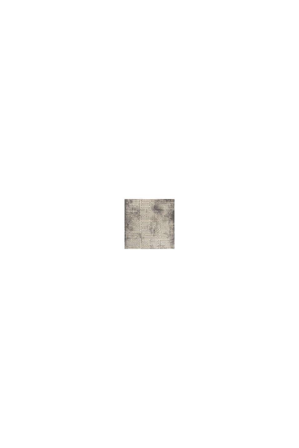 Web-Teppich mit geometrischem Muster, DARK GREY, swatch