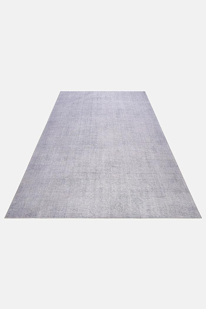 Kurzflor-Teppich mit upgecycelter Baumwolle, MEDIUM GREY, detail image number 5