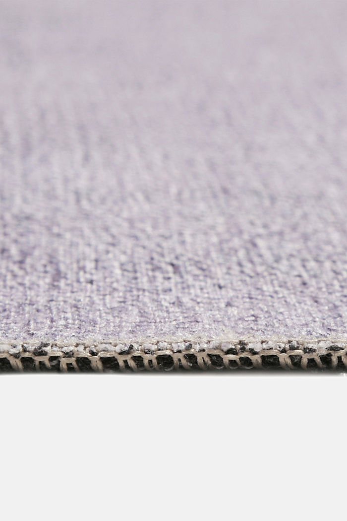 Kurzflor-Teppich mit upgecycelter Baumwolle, MEDIUM GREY, detail image number 3