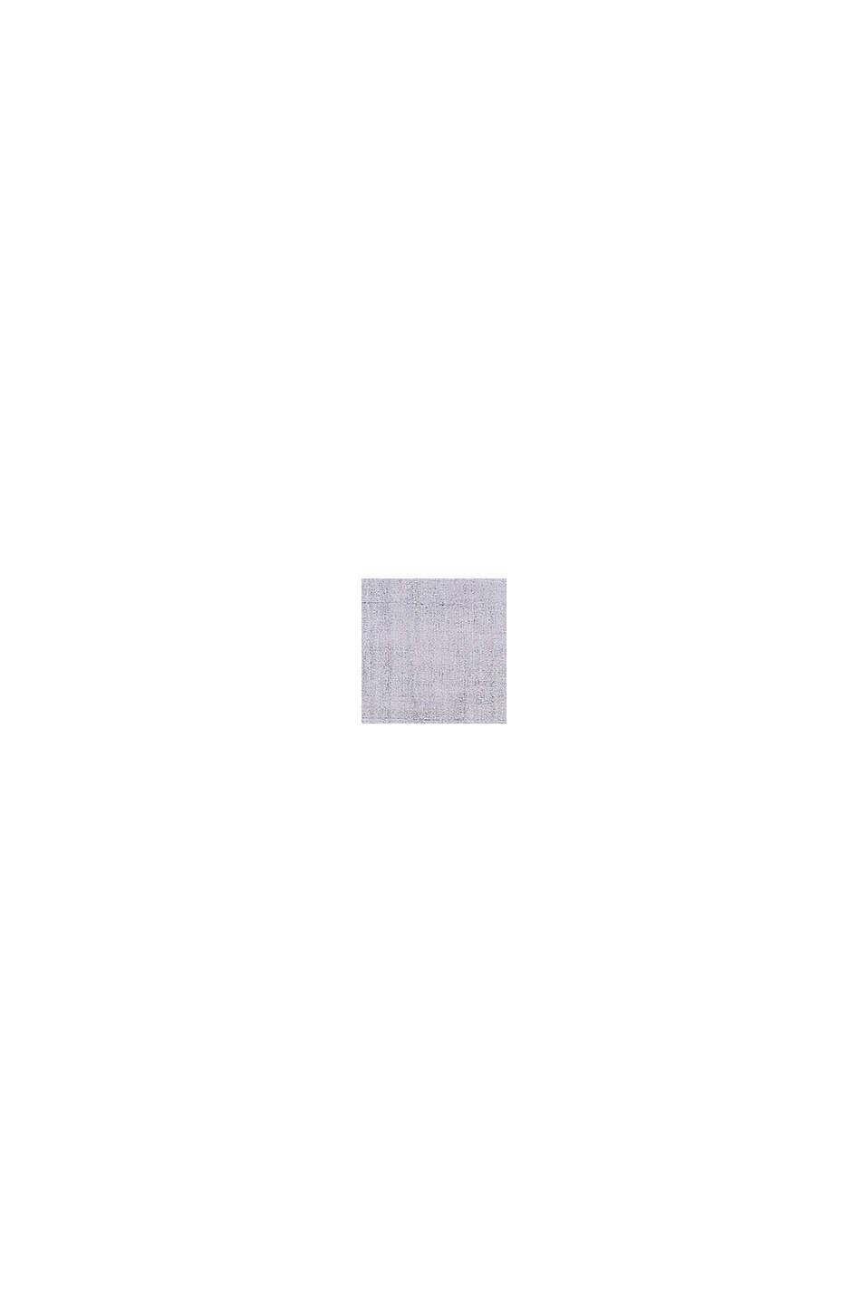 Kurzflor-Teppich mit upgecycelter Baumwolle, MEDIUM GREY, swatch