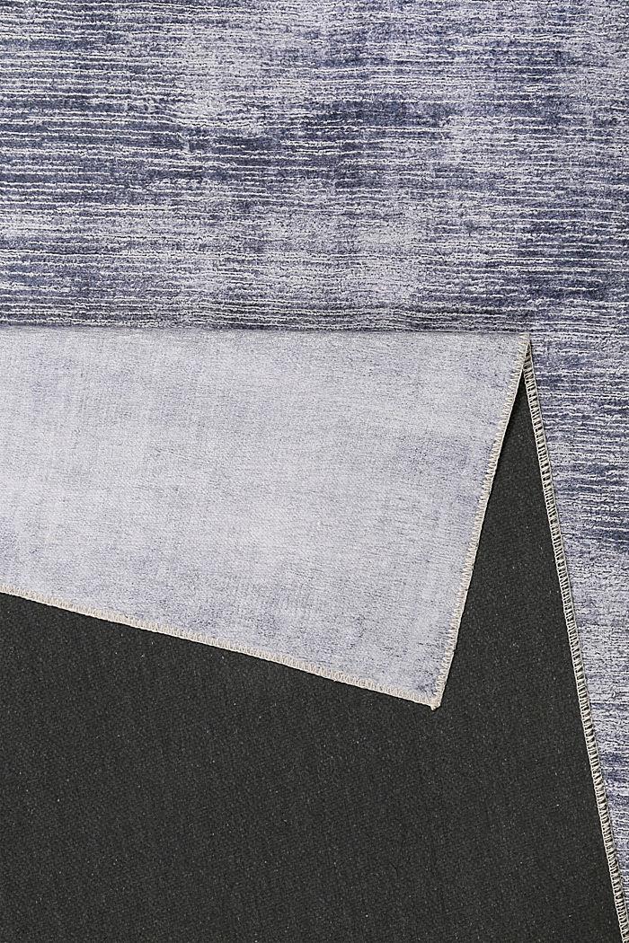 Kurzflor-Teppich mit upgecycelter Baumwolle, GREY, detail image number 2