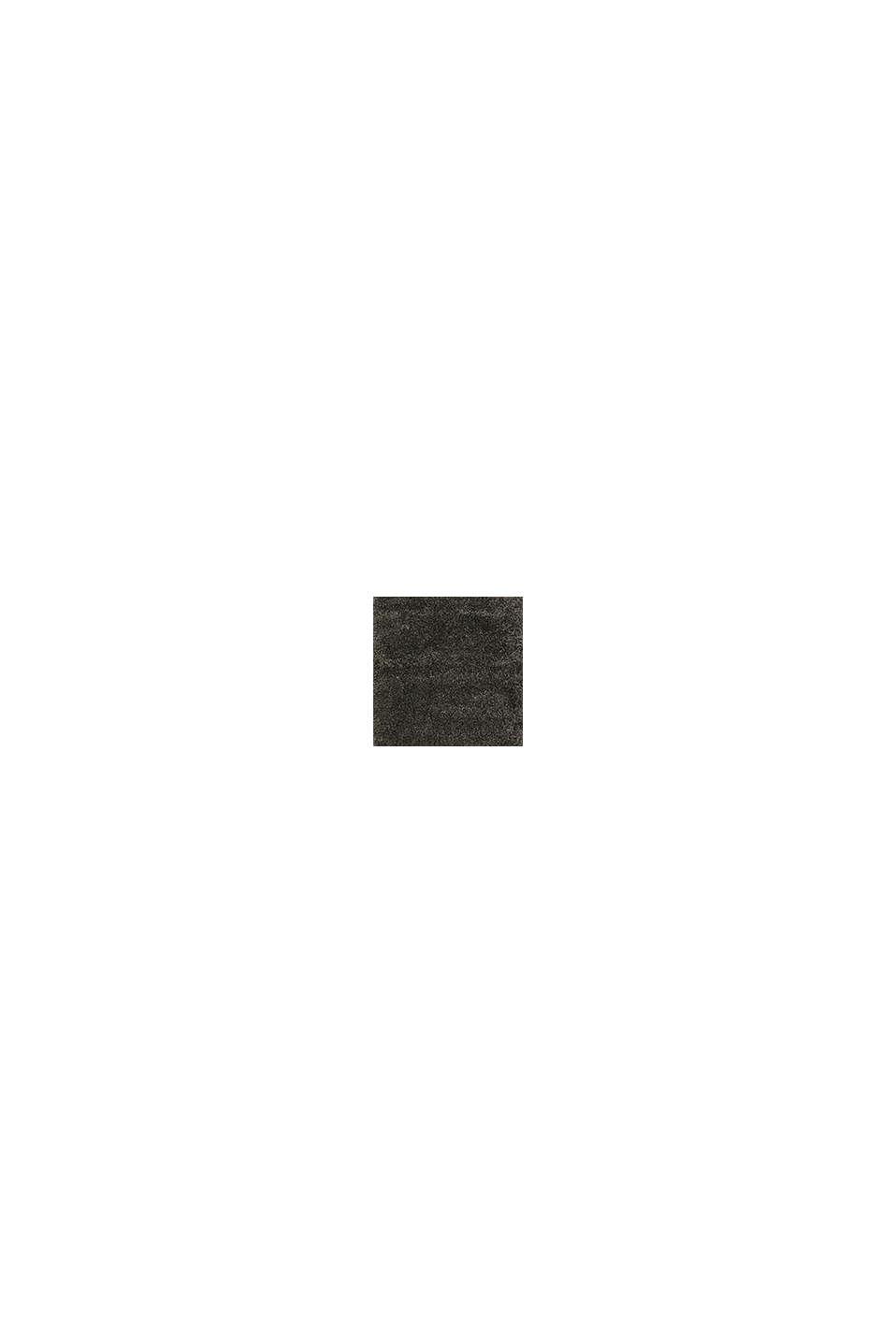 Gewebter Hochflor-Teppich, meliert, DARK GREY, swatch