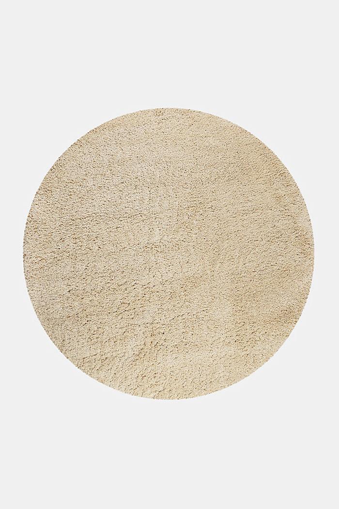 Gewebter Hochflor-Teppich, meliert