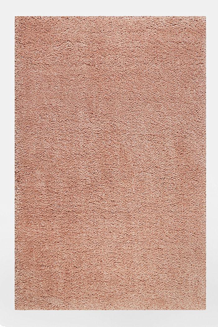 Gewebter Hochflor-Teppich, meliert, ROSE, detail image number 0