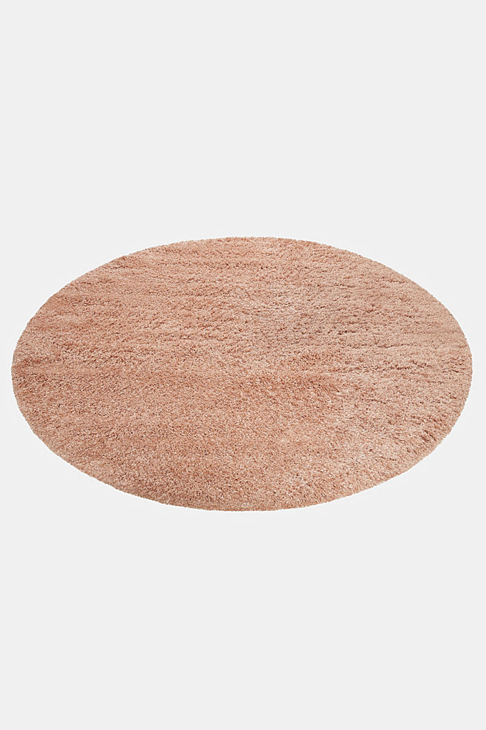 Gewebter Hochflor-Teppich, meliert, ROSE, detail image number 5