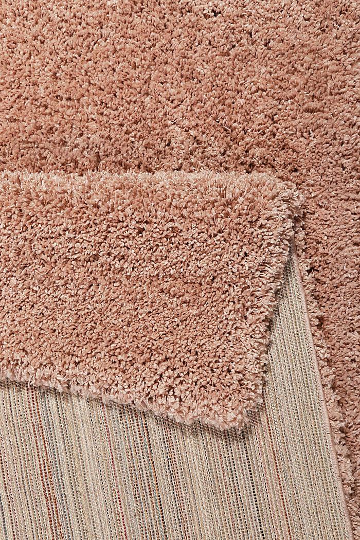 Gewebter Hochflor-Teppich, meliert, ROSE, detail image number 2