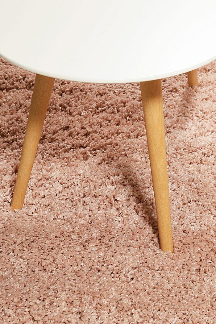 Gewebter Hochflor-Teppich, meliert, ROSE, detail image number 3