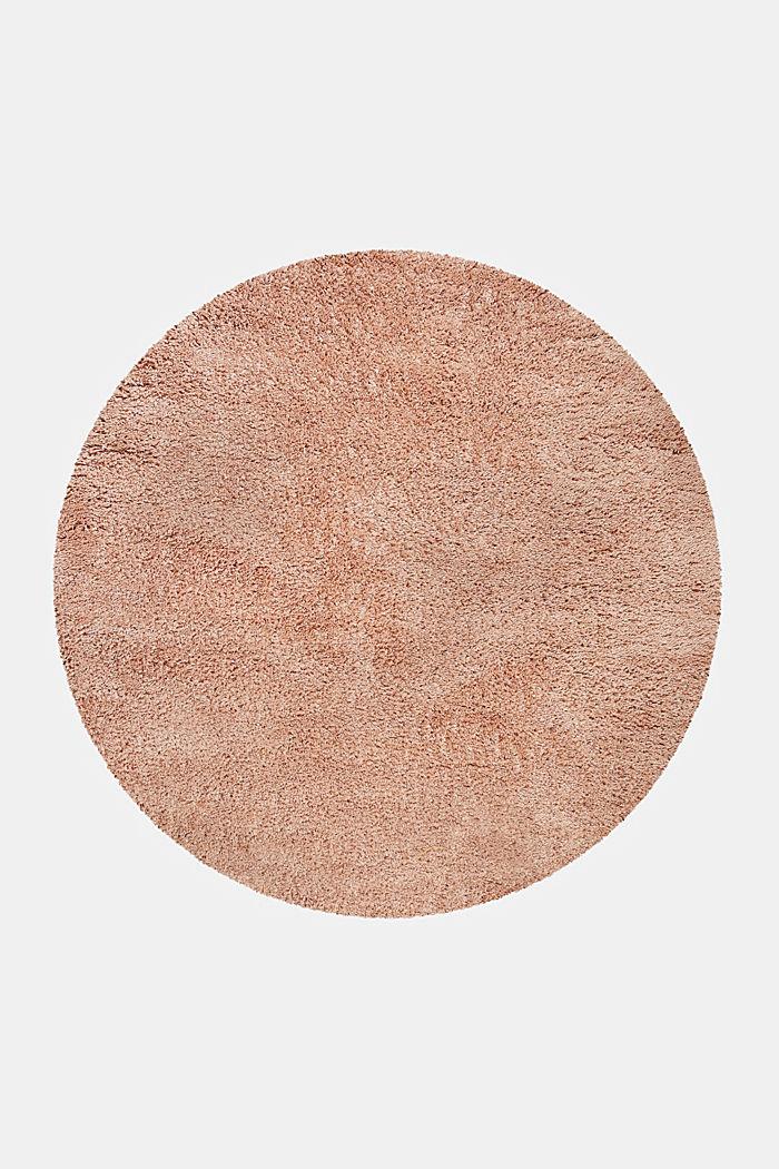 Gewebter Hochflor-Teppich, meliert, ROSE, detail image number 1