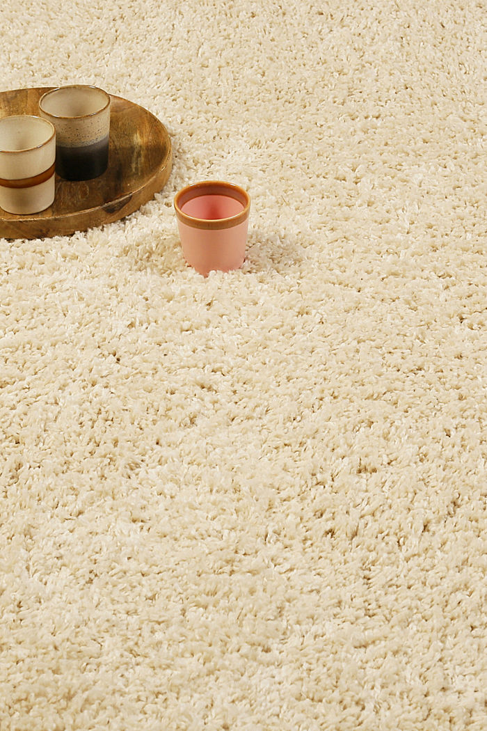 Hochflor-Teppich im Berber Style mit Fransen