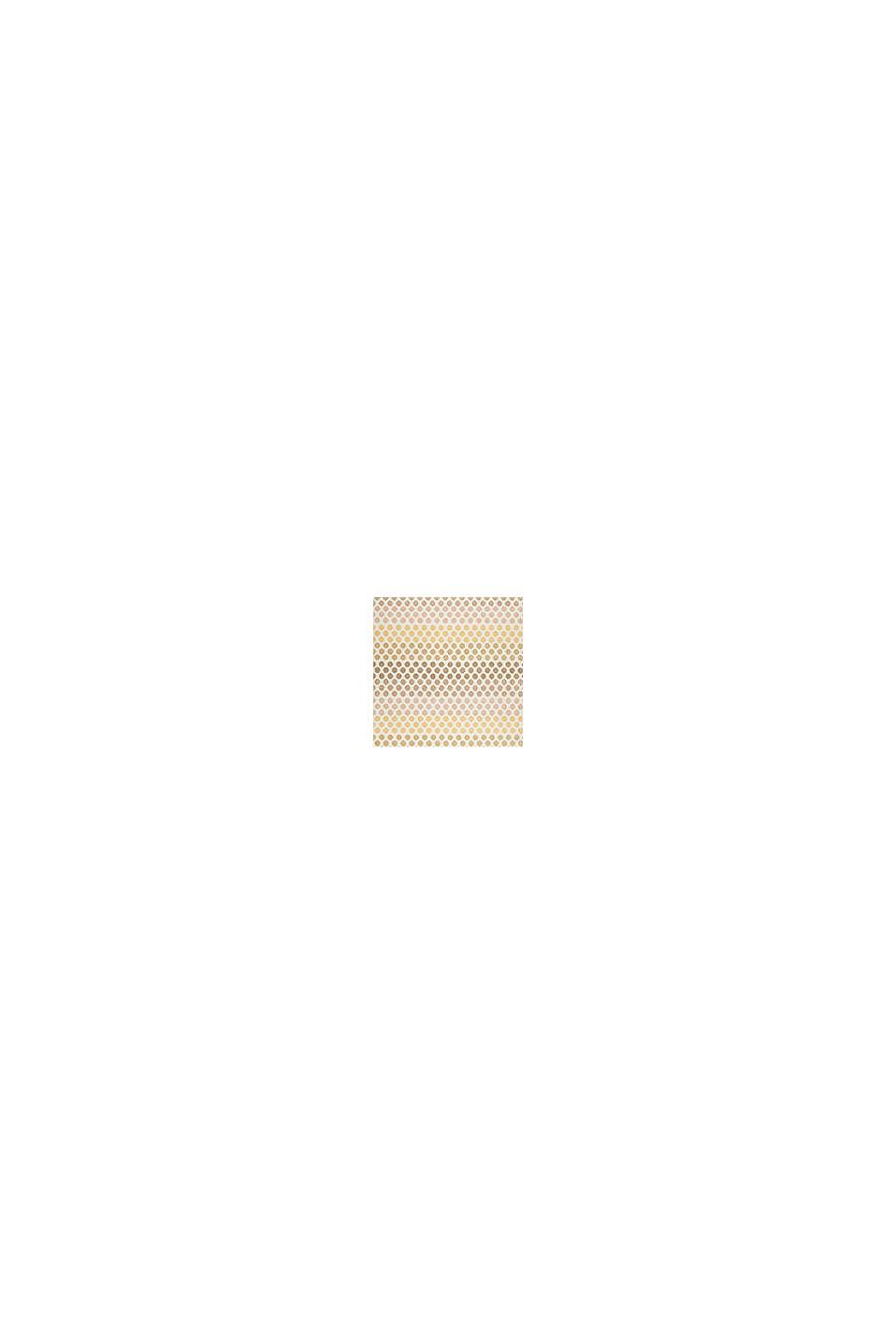 Web-Teppich mit dezentem Kreis-Muster, BEIGE, swatch