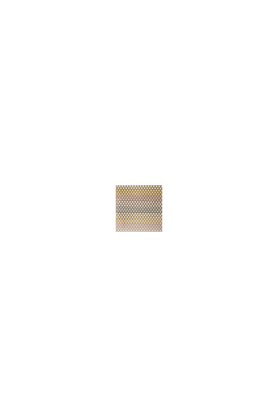 Web-Teppich mit dezentem Kreis-Muster, ORANGE, swatch