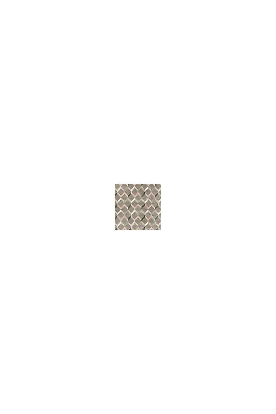 Web-Teppich mit dekorativem Rautenmuster, MEDIUM GREY, swatch
