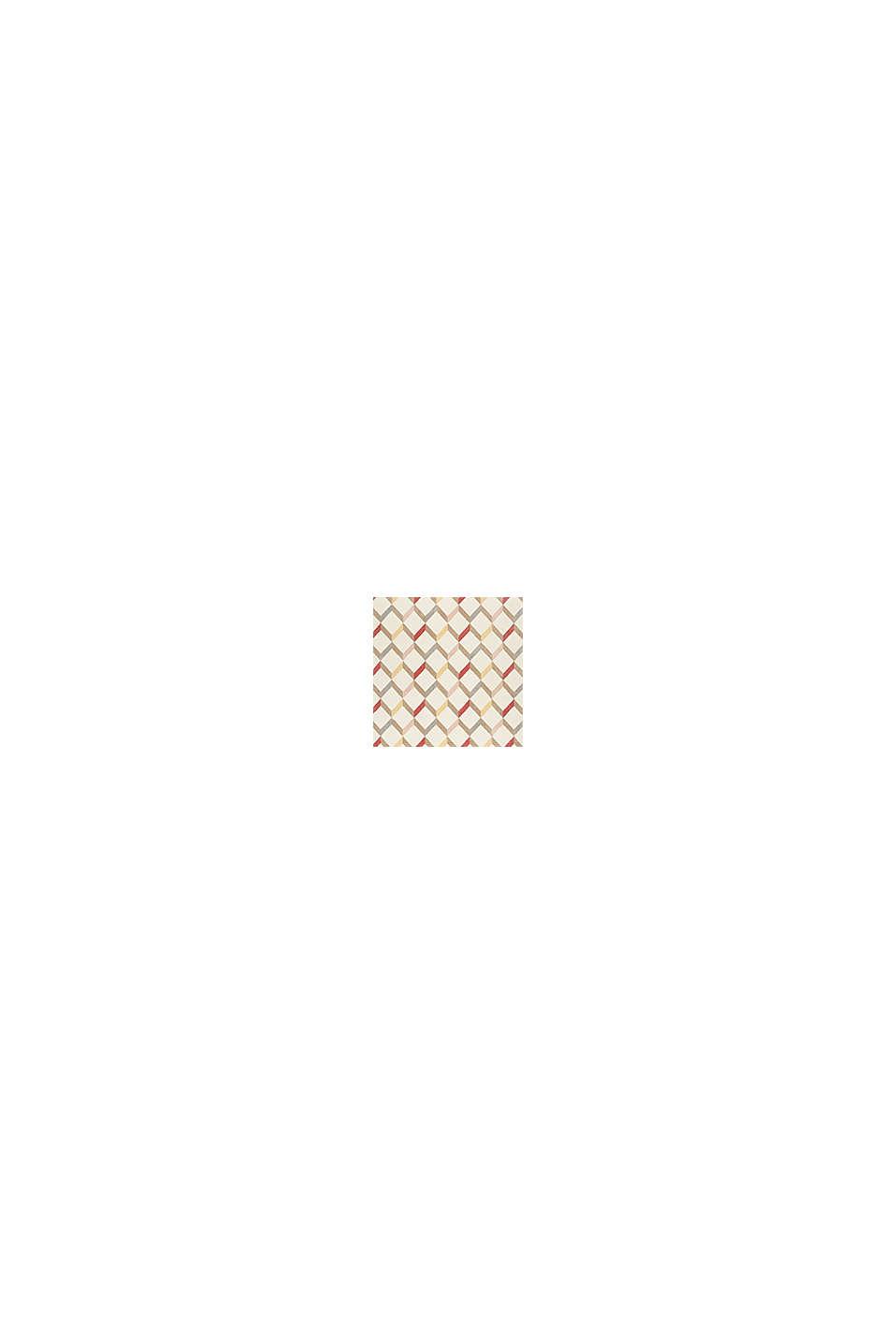 Web-Teppich mit dekorativem Rautenmuster, CHERRY RED, swatch