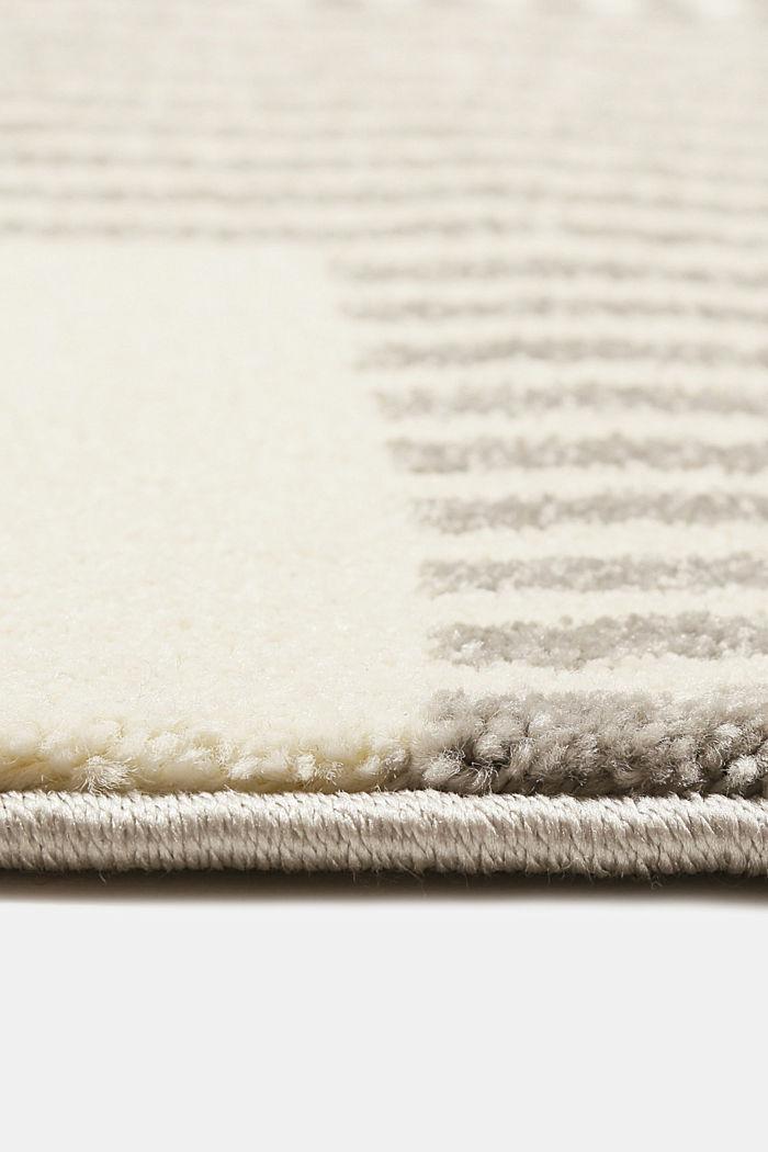 Web-Teppich mit grafischem Muster, LIGHT GREY, detail image number 5