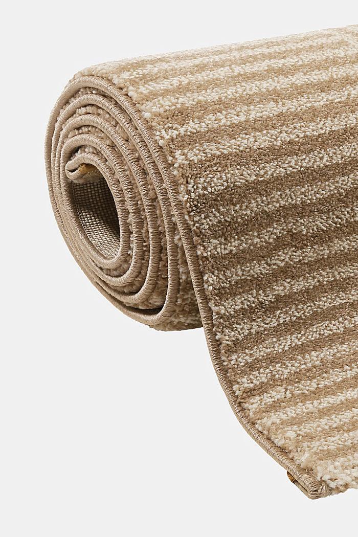 Web-Teppich mit grafischem Muster, BEIGE, detail image number 3