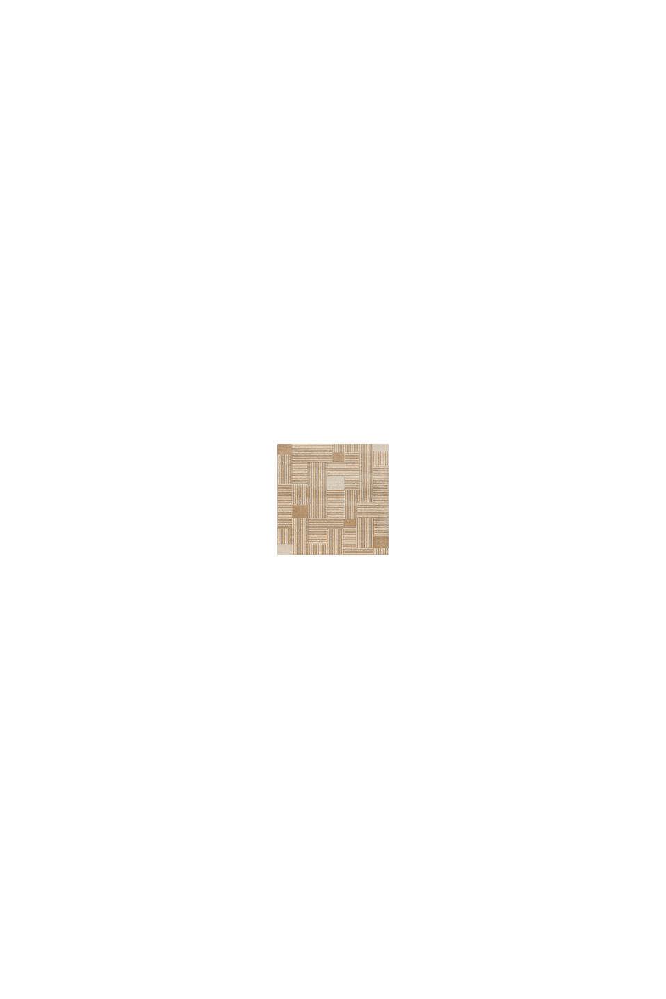 Web-Teppich mit grafischem Muster, BEIGE, swatch