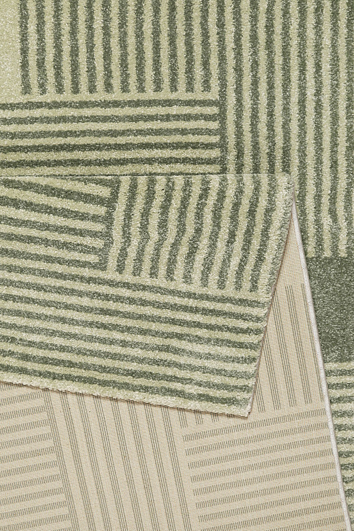 Web-Teppich mit grafischem Muster, GREEN, detail image number 2