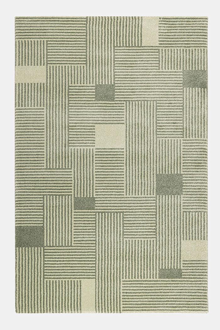 Web-Teppich mit grafischem Muster