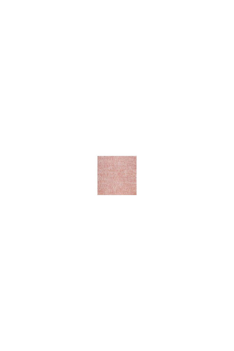 Flauschiger Langflor-Teppich, OLD PINK, swatch