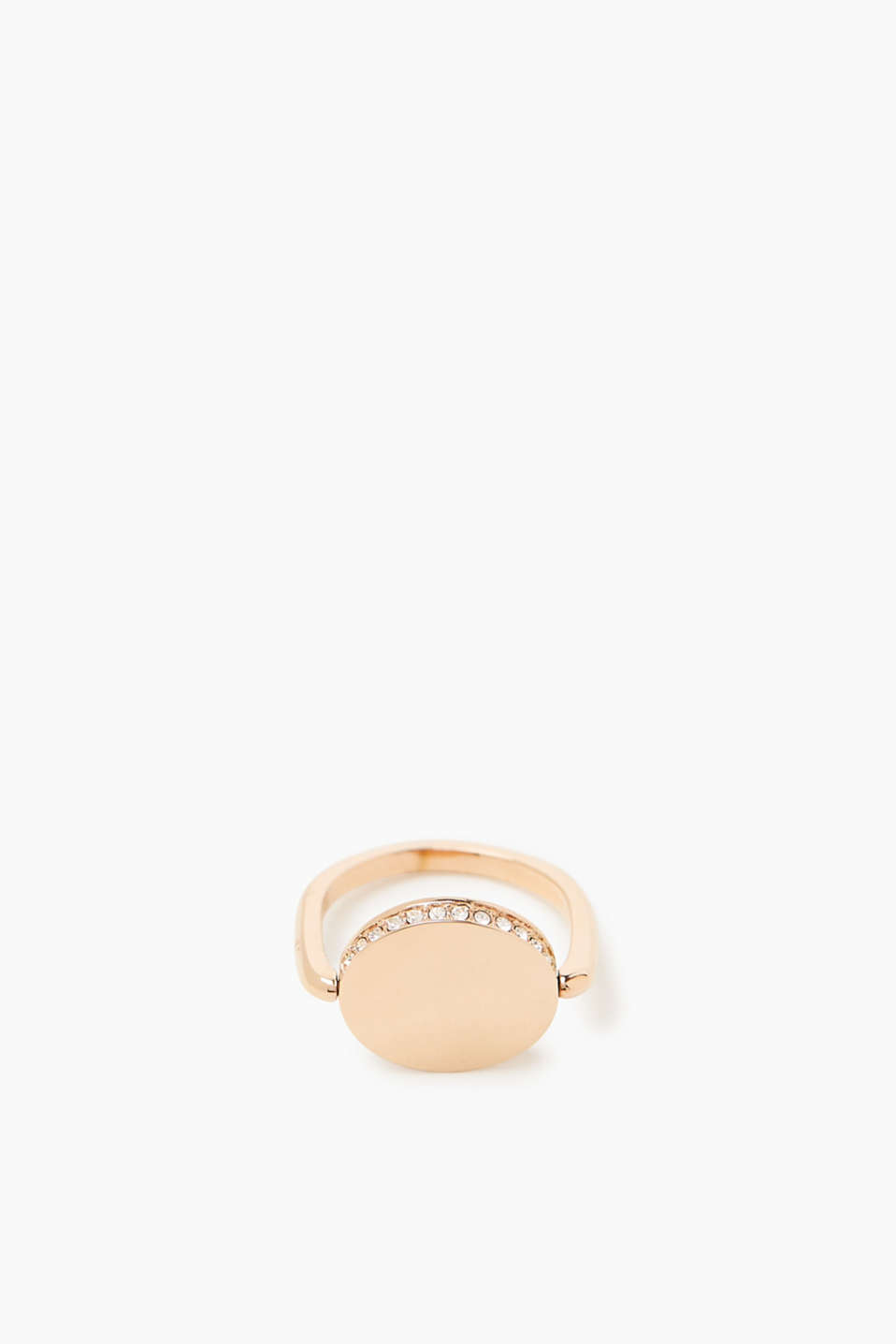 Esprit - Minimalist ring with zirconia